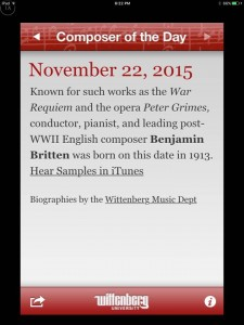 composer of the day app