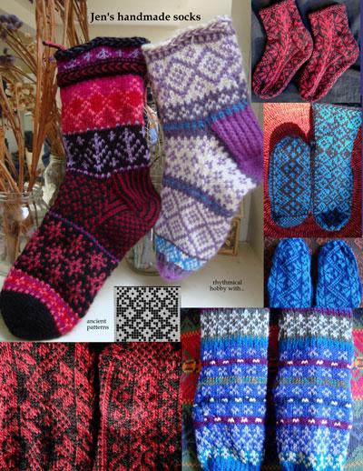 jennifer cluff knitting