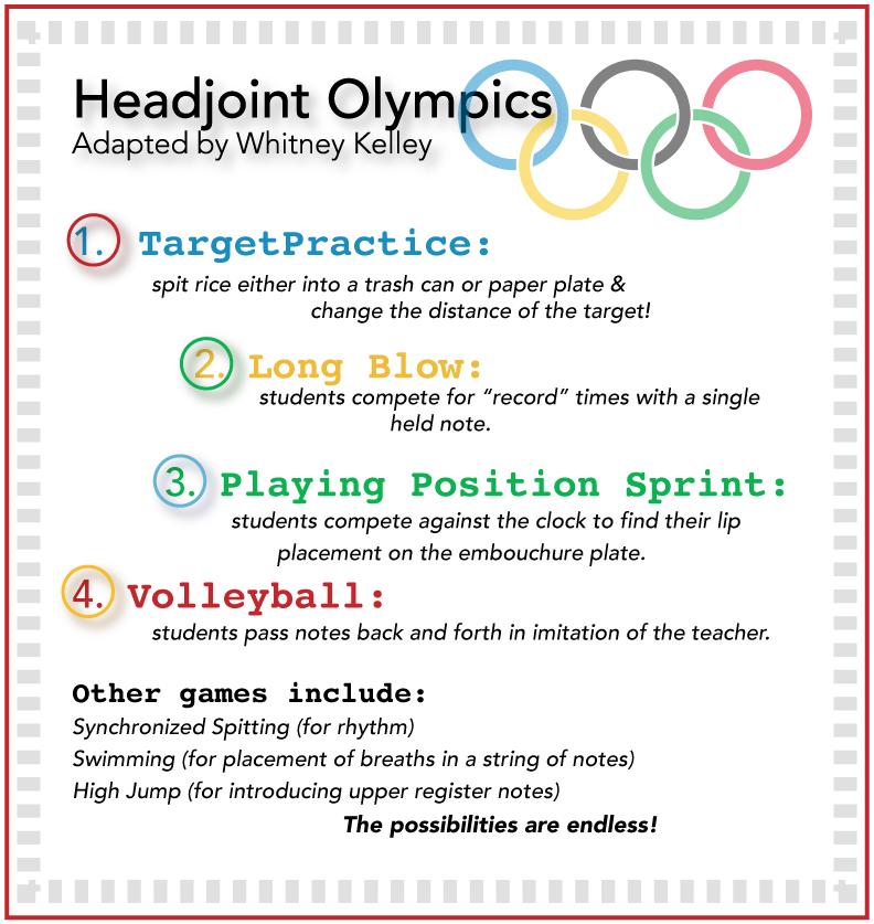 flute headjoint olympics